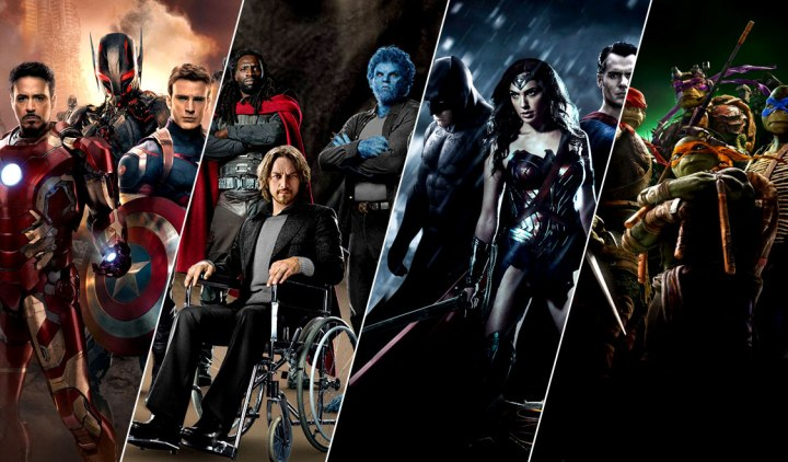 Dark Xion - Are Super Hero Movies Getting Bigger