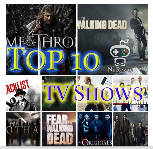 Top 10 TV Shows for 2016 -NuRevue