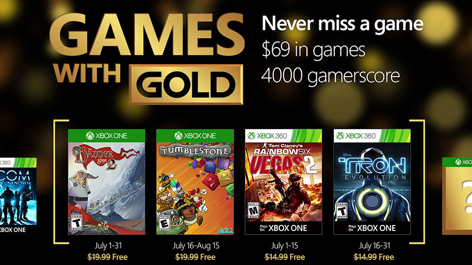 Games with Gold July 2016 are here -NuRevue